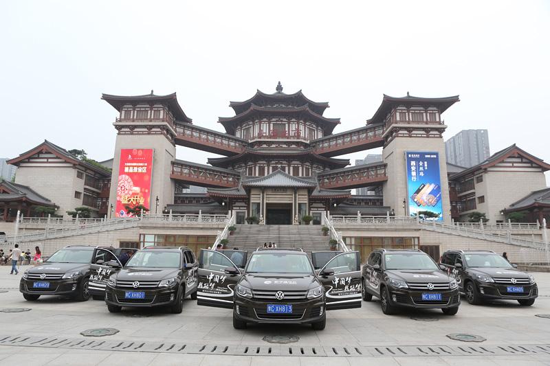丝路梦车队重回西安大唐西市。摄影:赵冰