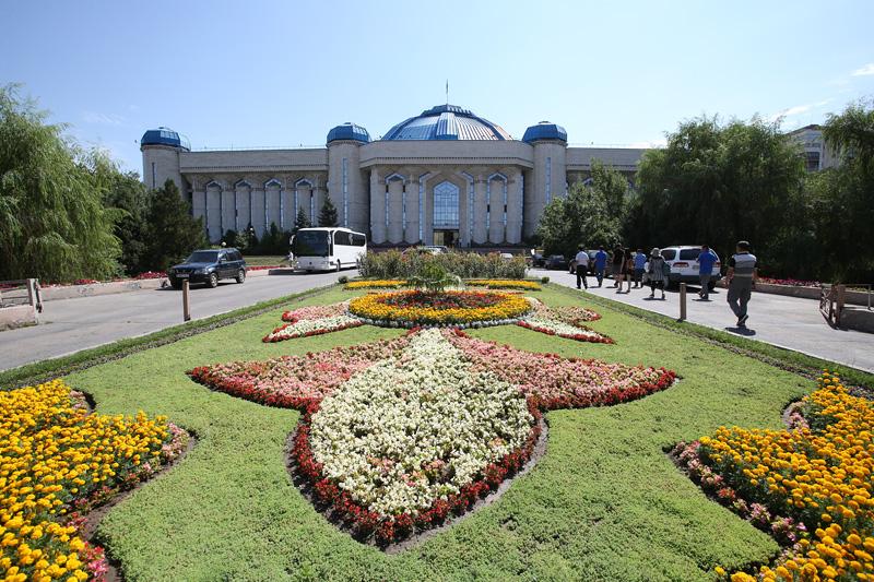 哈萨克斯坦国家博物馆。摄影:赵冰