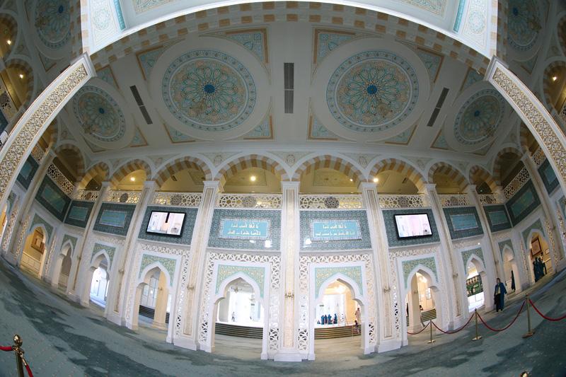 清真寺内部。摄影:赵冰