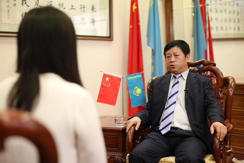 张汉晖大使接受新华社专访