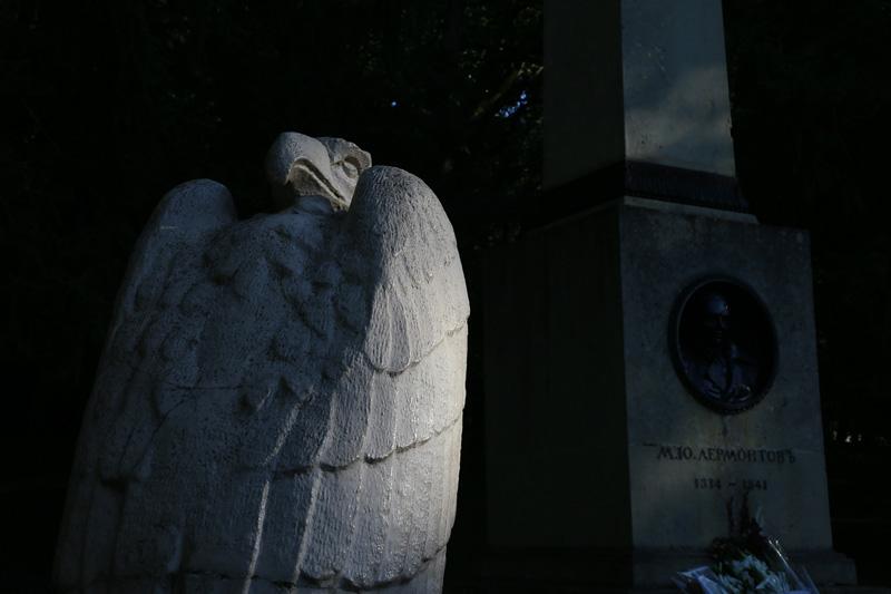 五山城,莱蒙托夫墓。摄影:杨立恩